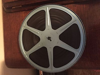 """VINTAGE 1960""""s  8 mm  Home Movies With Metal Container 7"""" dia. Qty 2"""