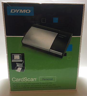 Dymo CardScan Personal Portable Business Card Scanner - Excellent Condition
