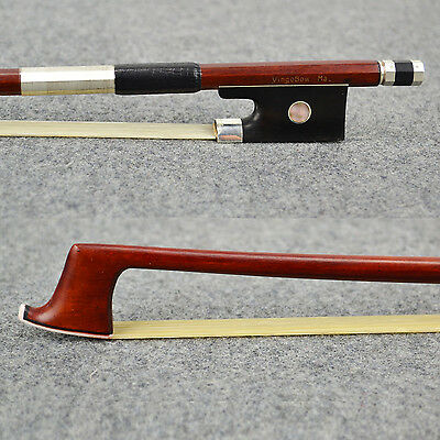 ANTIQUE D.peccatte Master Pernambuco Violin Bow Natural Horse Hair  Actual Bow