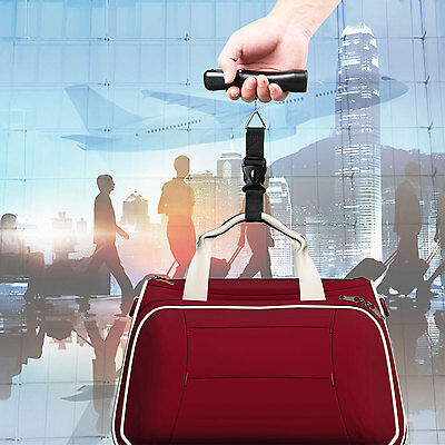 40KG Portable Digital LCD Luggage Suitcase Bag Weighing Scale Travel Handheld UK
