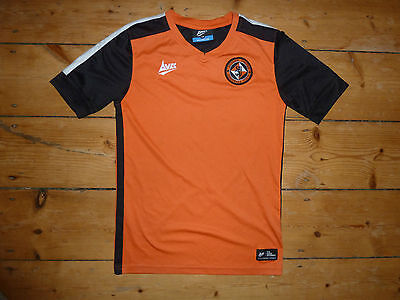 age 10-12 yr DUNDEE UNITED FC SHIRT Avec Home Soccer Jersey