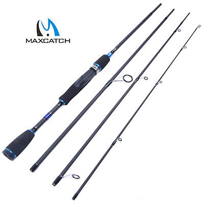 Maxcatch Spinning Rod Travel Saltwater Rod 4 Pieces Graphite Fishing Rod