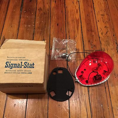 Vintage New Old Stock Signal Stat 309 Tear Drop Emergency Light With Switch