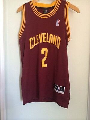 Cleveland Jersey#2 Irving NBA Basketball Singlet Mens size Small