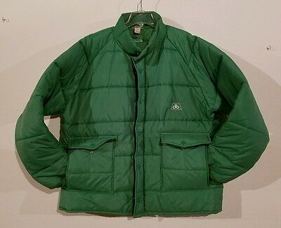 Puffer Farm Swingster Jacket XXL Green Cargill Seed Vintage Coat Carpenter
