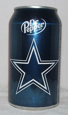 Dr Pepper 2016 Collector's Edition Official Football NFL Dallas Cowboys Can NICE