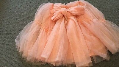 Rock Your Baby Pink Tulle Skirt Size 3-5 Years EUC