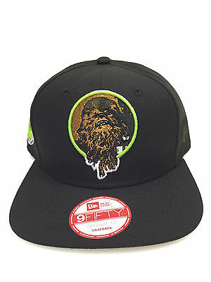 Star Wars The Force Awakens Chewbacca New Era Snapback Hat Retroflect 9Fifty Cap