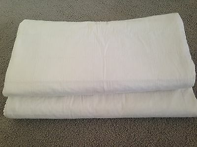 2 x Single Bed Brolly Sheets Excellent Condition