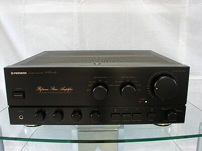 """Pioneer A-757 Mark II High-End """"Reference Stereo"""" Amplifier, 12 Mon. Garantie"""