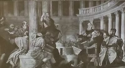 Christ Disputing with the Doctors, Paolo Veronese, Magic Lantern Glass Slide