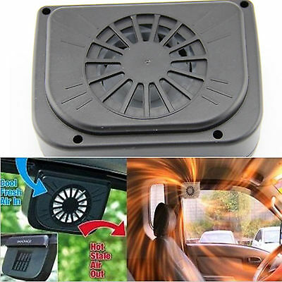Portable Car Window Cooler Mini Fan Solar Powered Car Air Vent Cooling Tool 1PC