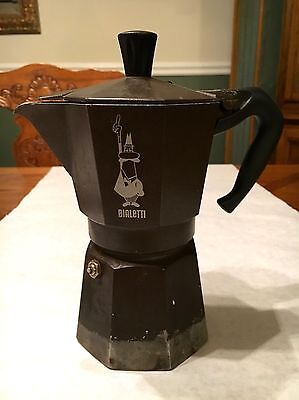 Bialetti Moka Express 1-Cup Espresso Machine Stovetop Made in Italy