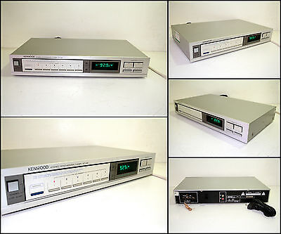KENWOOD KT-42 Stereo Synthesizer Tuner.