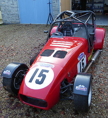 Westfield SEW ST170 Racecar Track day with PRG Hydraulic Tilt Enclosed Trailer