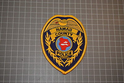 Hawaii County Police Department Hawaii Patch (B17-A)