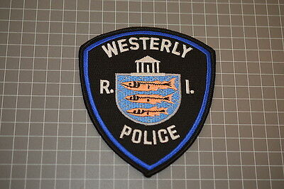 Westerly Rhode Island Police Department Patch (B17-A)
