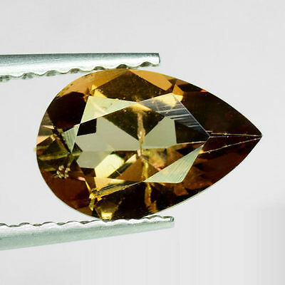 0.97Ct Extreme Gem! Natural Imperial Champagne Amazing Color Change AXINITE XN97