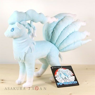 Pokemon Center Original Plush Alola Ninetales doll From Japan