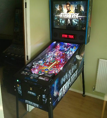 Star Trek Pinball Machine by Stern, HOME USE ONLY since new
