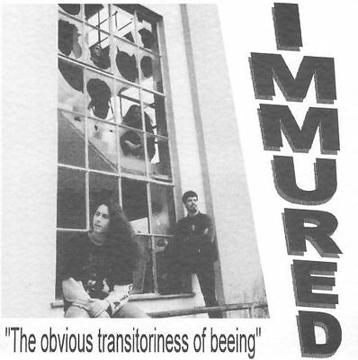 """IMMURED: The Obvious Transitoriness Of Being (1996) Limited Edition 7"""" EP"""