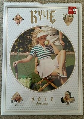 Kylie Minogue Official A3 Calendar 2017 - Brand new and sealed