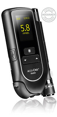 ACCU CHEK MOBILE blood glucose meter Strip-free Accu-Chek Mobile System