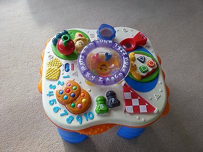 Fisher Price Sound/music Activity Table