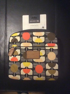 New In Packaging Maclaren Orla Kiely Universal Insulated Pannier