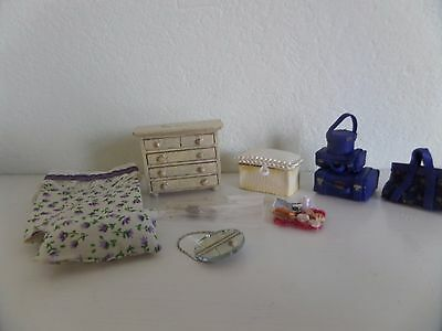 24th  scale  job lot (2) dolls house mixed items