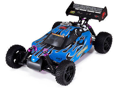 Redcat Racing Shockwave 1/10 Scale 4WD Nitro Buggy 2.4GHz RTR - Blue