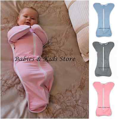 Baby Swaddle Wrap Zip Up Sleeping Bag Love to Cotton Dream Newborn Infant