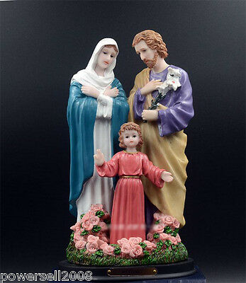 Catholic Church Jesus Christian Blessed Virgin Mary Statue Decoration Family