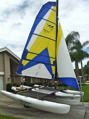 Windrider WR17 sailing trimaran yacht dinghy NEW reduced price complete