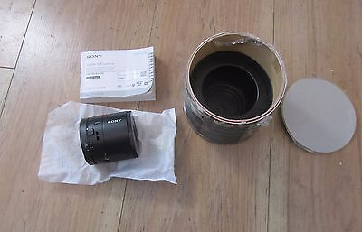 Sony DSC-QX100 Lens-Style Camera with 1.0-Type Sensor (Hardly Used)