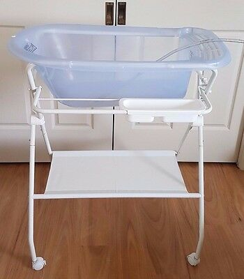 Infa Secure Deluxe Bath Stand And Easi Drain Bath - Guc