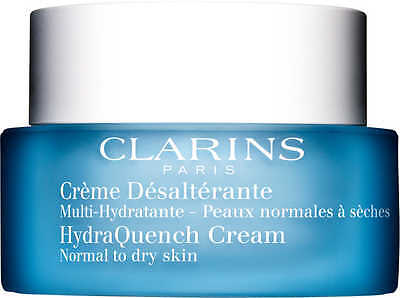 CLARINS HYDRAQUENCH CREAM NORMAL TO DRY SKIN 50ML New in Box Genuine!!! RRP$70