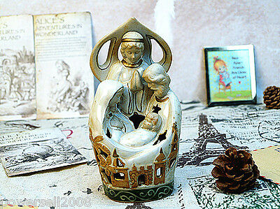 Catholic Church Jesus Christian Blessed Virgin Mary Decoration Candlestick Gift