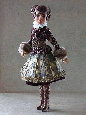 Harrods Boxed Ellowyne Woefully Rich Lizette Doll By Robert Timber