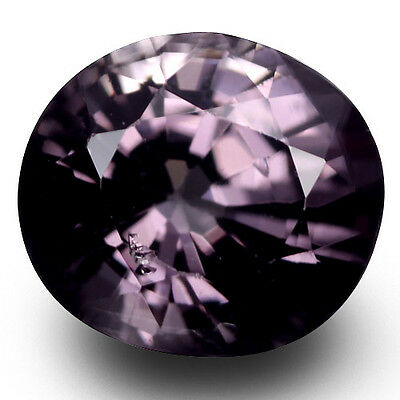 1.35 Ct Charming Rare Mind Blowing Luster Natural Violet Spinel