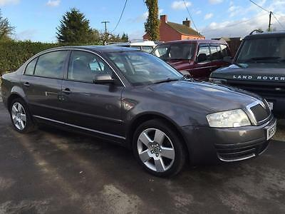 SKODA SUPERB COMFORT 2.5 V6 TDI, Grey, Manual, Diesel, 2004