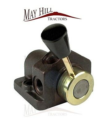 1 Port Hydraulic Isolator Diverter Valve - Massey Ferguson 35,135,148,165,240