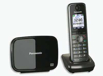 Panasonic KX-TG8621 Cordless Phone with Answering Machine DECT Bluetooth SMS