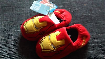 NEW IRONMAN  childrens SLIPPERS SiZE 8