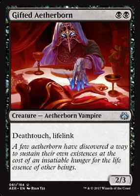 4 x Gifted Aetherborn - Aether Revolt - Uncommon - Near Mint
