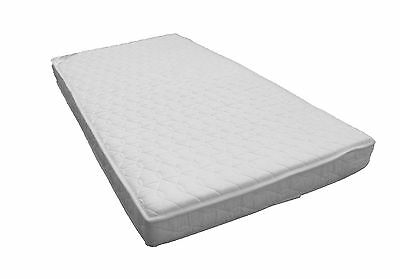 KATY® POCKET Sprung Quilted Microfibre Anti Allergy FULLY BOUND Cotbed Mattress