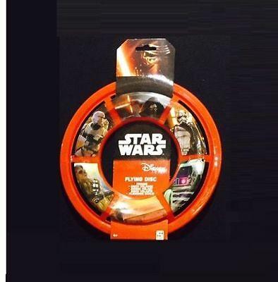 New Ultimate Star Wars 7 Frisbee, Flying Space Disc, Red Ring, Free Postage
