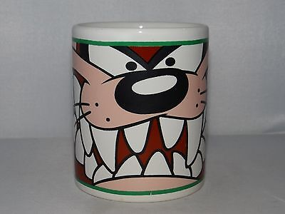 TASMANIAN DEVIL TAZ Warner Bros Looney Tunes Gibson Coffee Mug Cup Ceramic 2000