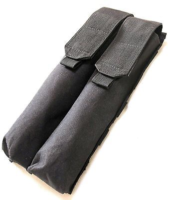 New Airsoft Tactical Nylon Molle Double P90 UMP Magazine Utility Pouch Black