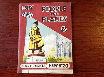 Vintage I-Spy booklet no. 20: People and Places